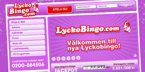 Lycko bingo ny design